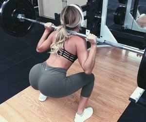fitness, squat, and legday image