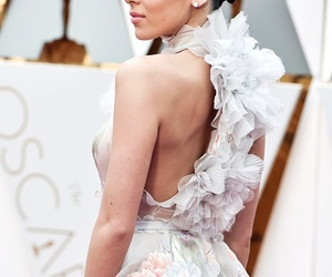 beautiful, dress, and oscars image