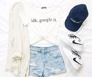 fashion, nike, and outfit image