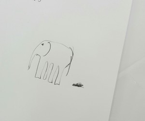 elephant and sketch image
