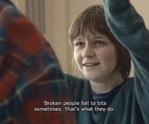 my mad fat diary, broken, and sad image