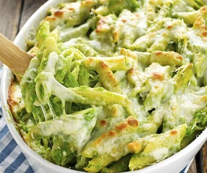 broccoli, cheese, and pasta image