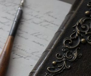 vintage, writing, and antique image