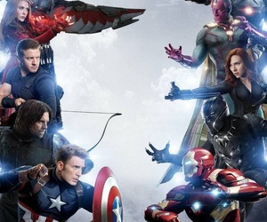 Avengers, Marvel, and team cap image