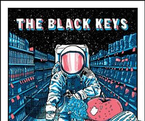 the black keys, music, and poster image