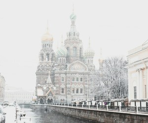 russia and saint petersburg image