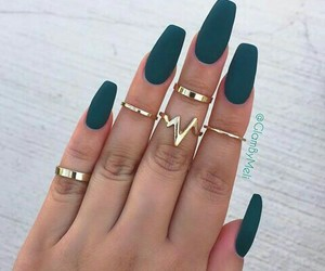 beauty, nails, and women image