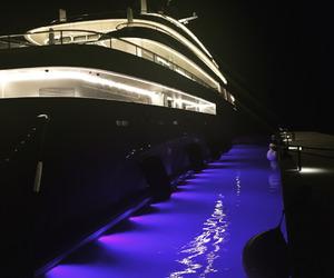 beautiful, water, and night image