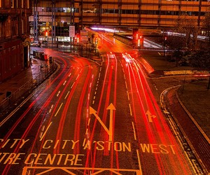 glow, junction, and light trails image