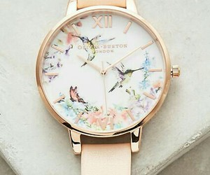 fashion, pink, and watch image