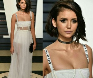 Nina Dobrev, Vanity Fair, and oscar's image
