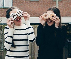donuts, fashion, and friendship image