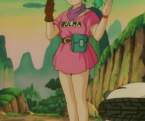 dragon ball, anime, and bulma image