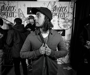 funny, pierce the veil, and vic fuentes image