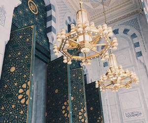 architecture, interior, and islam image