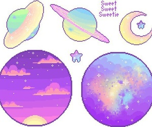 pixel, overlay, and pastel image