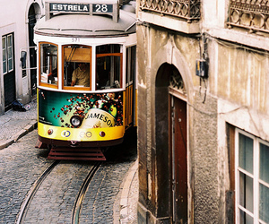 city, lisbon, and beautiful image
