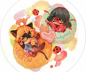 art, Chat Noir, and cute image