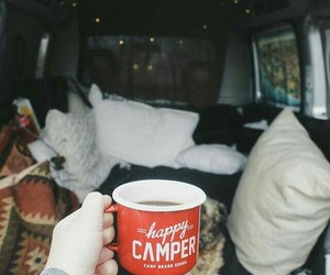 adventure, travel, and camping image