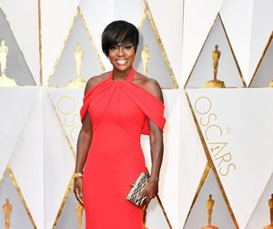 Armani, viola davis, and hollywood image