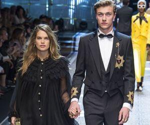 fashion, vogue, and Dolce & Gabbana image