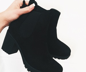 black, fitch, and shoes image
