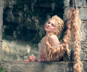 rapunzel and into the woods image