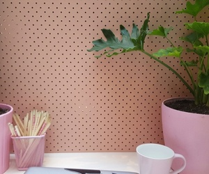 pink, plant, and work image