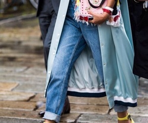 bag, classy, and coat image