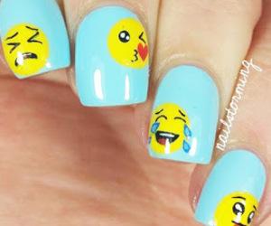 nail, nailspolish, and nailart image