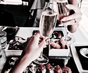 chic, drink, and drinks image