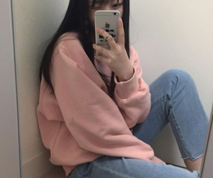 ulzzang, fashion, and girl image