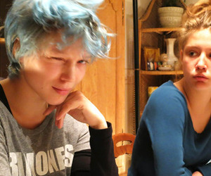 Lea Seydoux, blue is the warmest color, and la vie d'adèle image