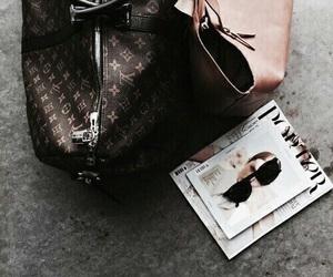 fashion, LV, and bag image