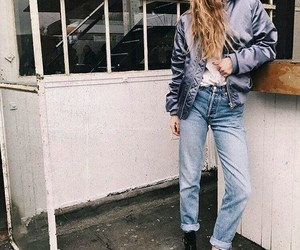 fashion, levis, and mode image