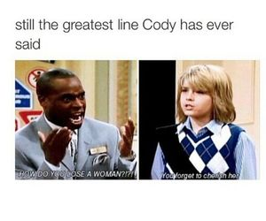 funny, cody, and lol image