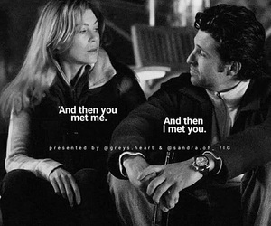 always, grey's anatomy, and derek and meredith image