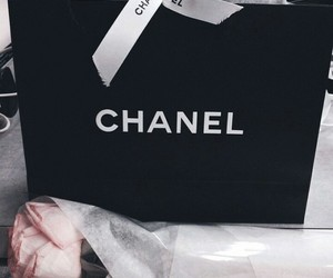 art, black, and chanel image