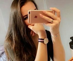 dp, girl, and selfie image