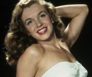 beauty, young, and marilyn image