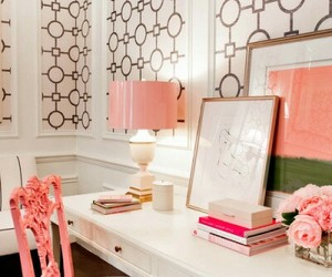 peach, peach decor, and designmeetstyle.com image