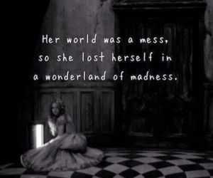 quotes, wonderland, and alice in wonderland image