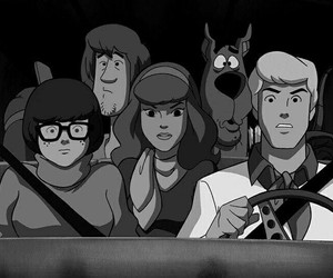 scooby doo, scooby-doo, and Fred image
