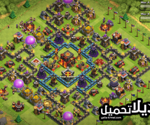 android, games, and clash of clans image