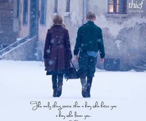the book thief, rudy steiner, and liesel image