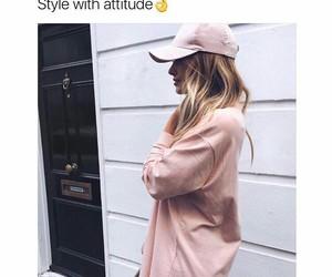 attitude, cap, and fashion image