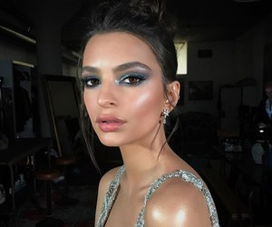 emily ratajkowski, makeup, and model image