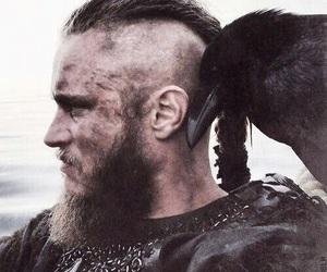 vikings, travis fimmel, and ragnar lothbrok image