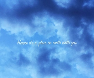 heaven, phrase, and sky image