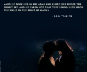aragorn, LOTR, and love image